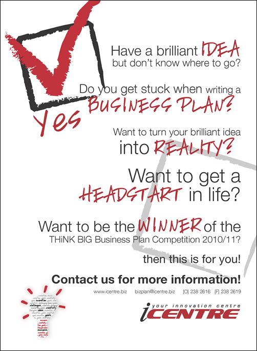 Think big business plan competition