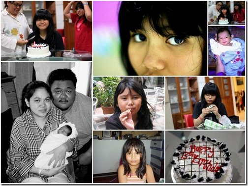 Nia's 13th Birthday Collage