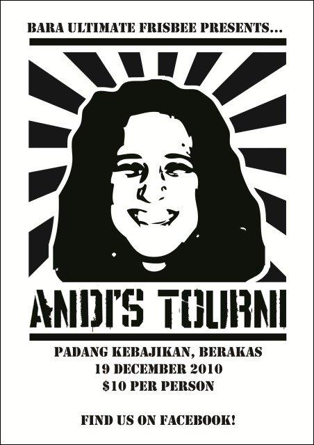 andi tourni poster