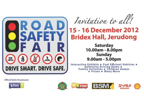 Come on down to the Road Safety Fair! | anakbrunei org