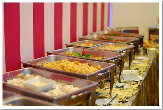 10% of the food on display…